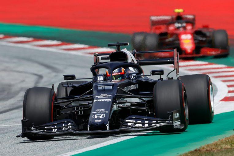 F1 | 「ひとりだけでも走ってくれたことがパフォーマンスに直結」週末を通して安定感を見せた角田/ホンダ本橋CEインタビュー