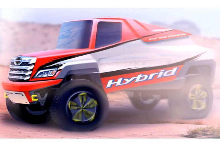 ラリー/WRC   日野チームスガワラ、2022年ダカールラリーに初のレース用ハイブリッド搭載車を投入へ