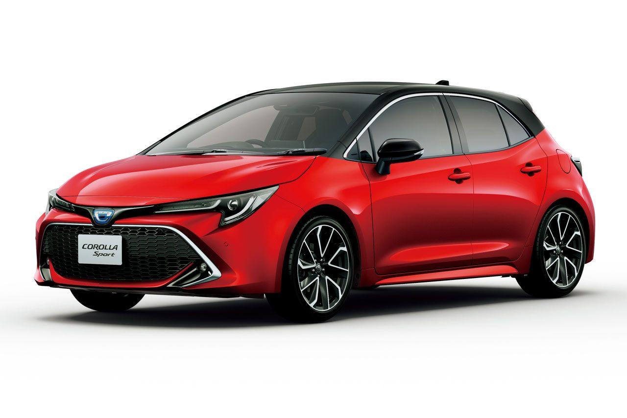 トヨタ・カローラシリーズが一部改良。急加速を抑制するプラスサポートや新規開発色を採用