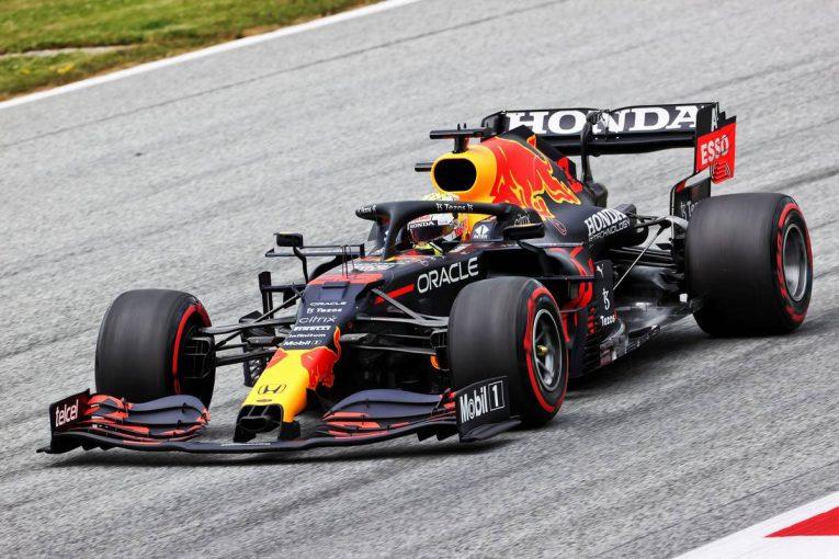 F1   オーストリアGP FP1:新構造のリヤタイヤをテスト。フェルスタッペンがトップ、角田裕毅は5番手