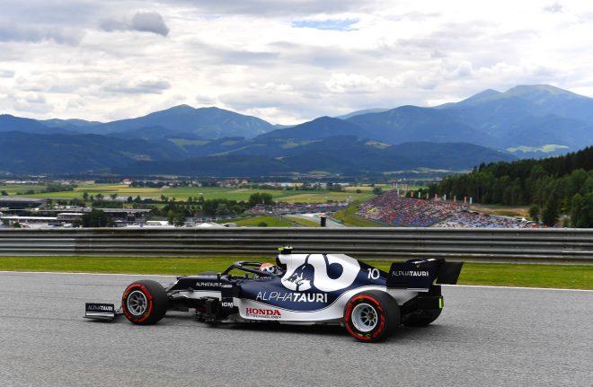 2021年F1第9戦オーストリアGP ピエール・ガスリー(アルファタウリ・ホンダ)