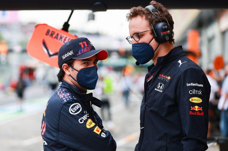 F1 | ペレス「ロングランは好調。ソフトタイヤでの速さを取り戻したい」レッドブル・ホンダ/F1第9戦金曜