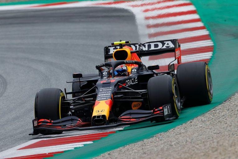 F1   レッドブル・ホンダ密着:ペレスにも新パーツを投入予定か。フェルスタッペンはメルセデス勢のソフトの速さを警戒