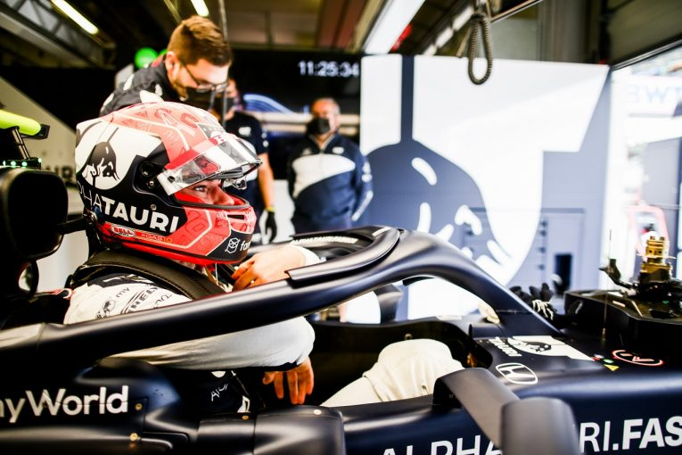 F1   ガスリー「遅れを取り戻す一日に。コンディションが変わり少し苦労した」アルファタウリ・ホンダ/F1第9戦金曜