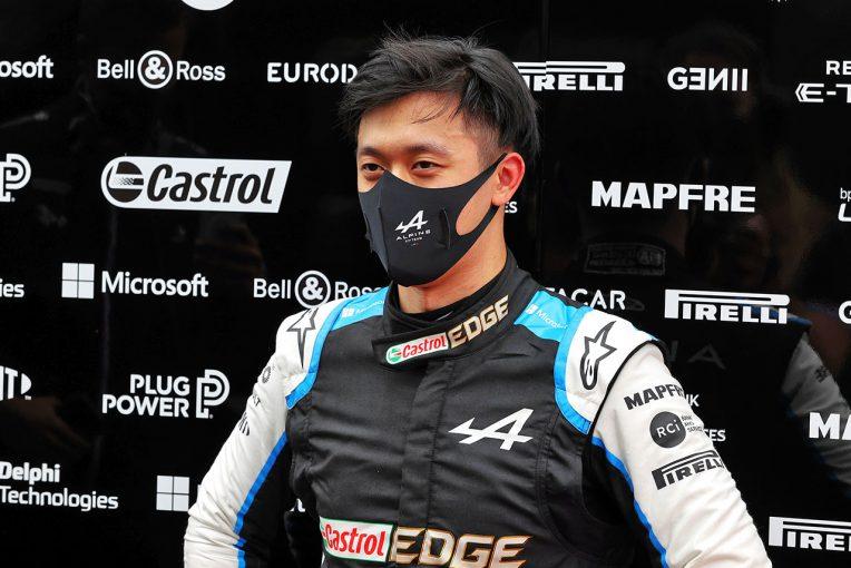 F1 | アルピーヌからF1公式セッションにデビューを果たした周冠宇「自分の走りには満足している」/F1第9戦金曜