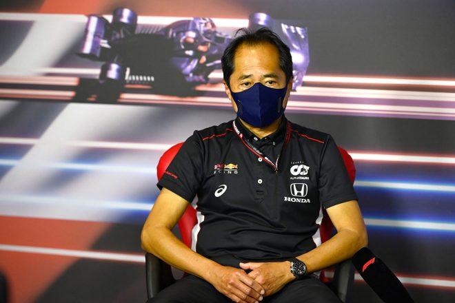 2021年F1第9戦オーストリアGP 金曜日会見に出席した田辺豊治テクニカルディレクター