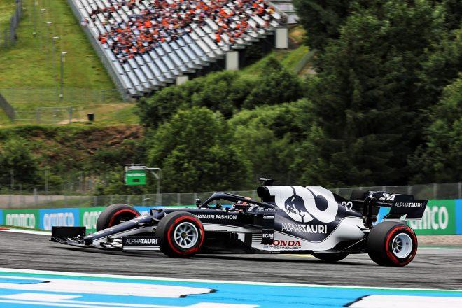 2021年F1第9戦オーストリアGP 角田裕毅(アルファタウリ・ホンダ)