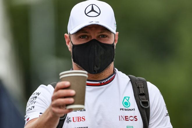 2021年F1第9戦オーストリアGP バルテリ・ボッタス(メルセデス)