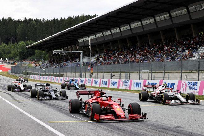 2021年F1第9戦オーストリアGP シャルル・ルクレール(フェラーリ)