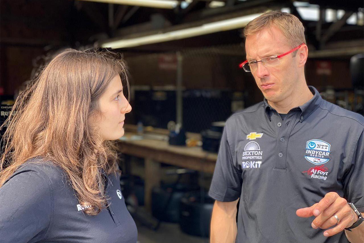 タチアナ・カルデロン、AJフォイトからインディカーのミドオハイオテストに参加へ