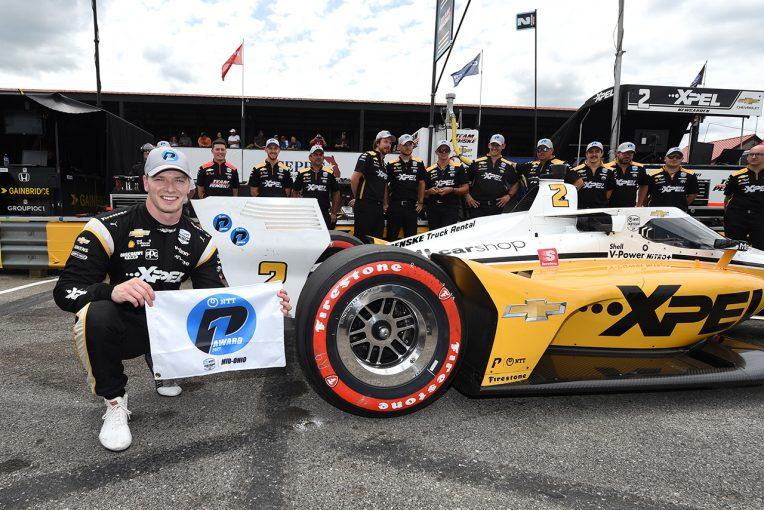 海外レース他 | ニューガーデンが逆転で3戦連続ポール奪取/インディカー第10戦ミド・オハイオ予選