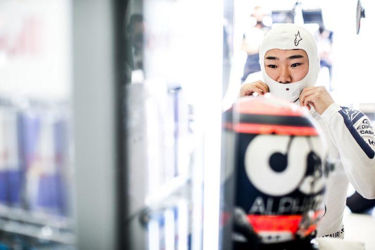 F1   角田裕毅「予選自己最高の7番手。2連戦で自信を深め、満足行くパフォーマンスを発揮できた」F1第9戦