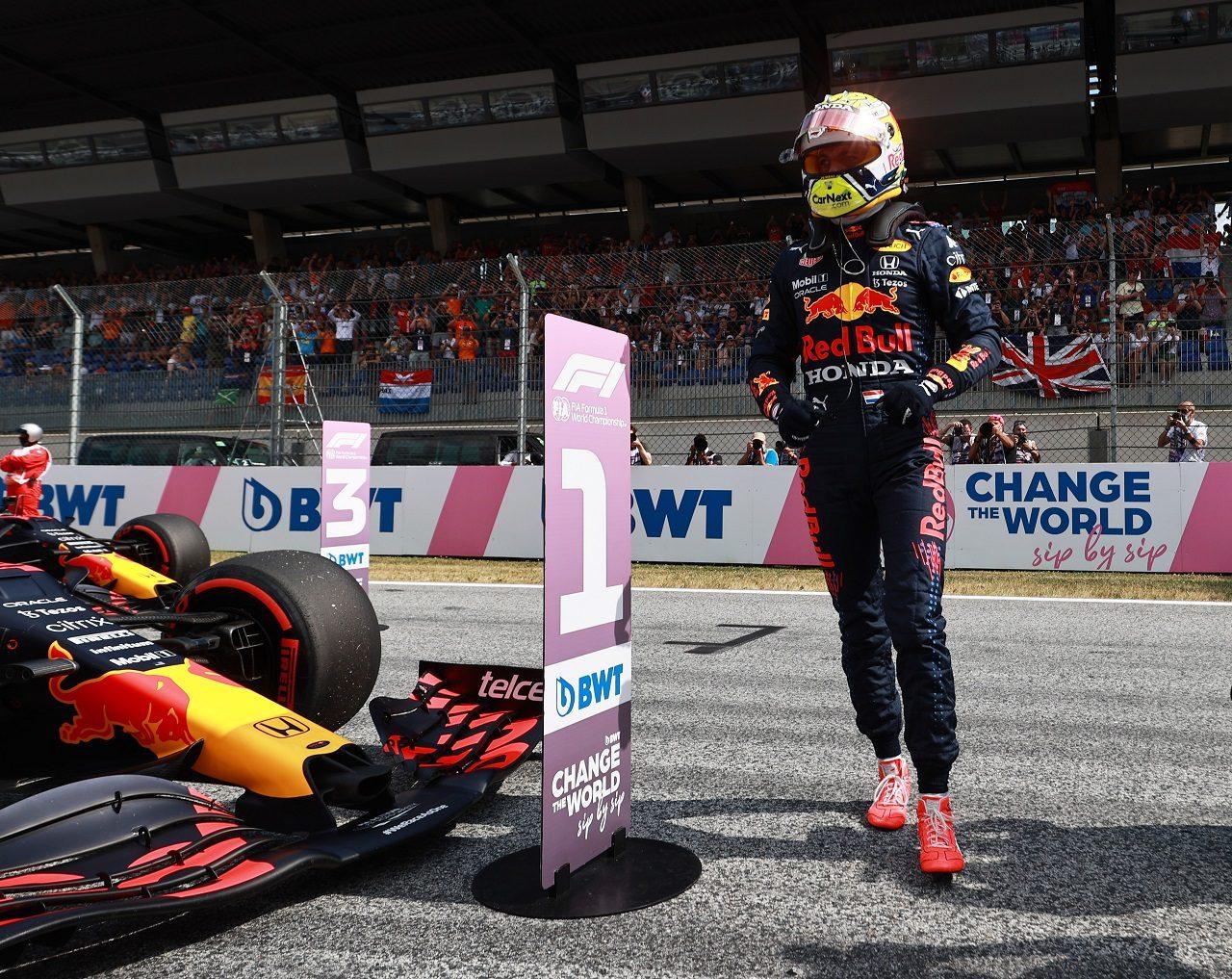 Photo of フェルスタッペン、0.048秒差のポールに不満「二度とこの戦略では走らない」レッドブル・ホンダ/F1第9戦予選   F1   autospo   autosport web 編集部