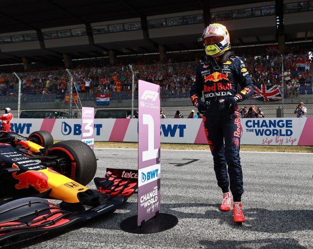 F1   フェルスタッペン、0.048秒差のポールに不満「二度とこの戦略では走らない」レッドブル・ホンダ/F1第9戦予選