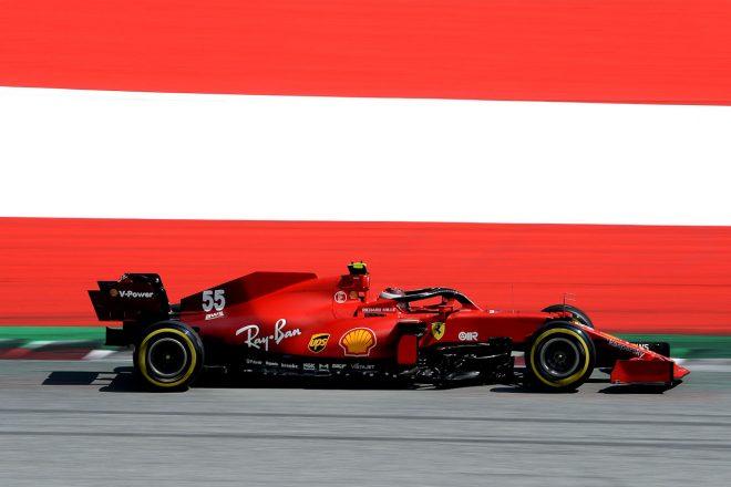 2021年F1第9戦オーストリアGP カルロス・サインツJr.(フェラーリ)