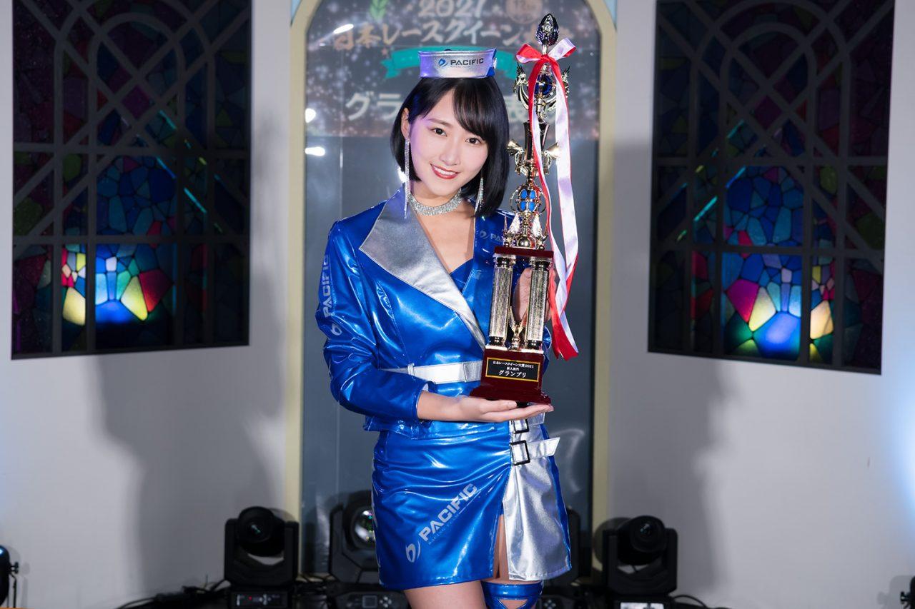 日本RQ大賞2021新人部門グランプリ発表。No.1ルーキーレースクイーンに川瀬もえさんが選ばれる