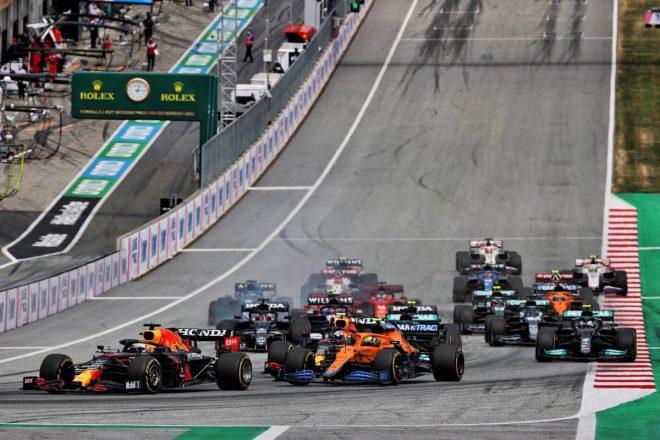 2021年F1第9戦オーストリアGP スタートシーン