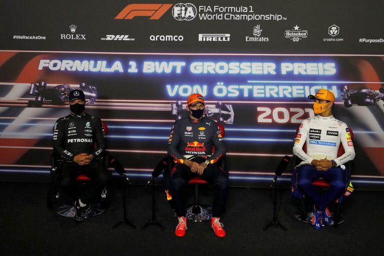 F1 | 【ポイントランキング】F1第9戦オーストリアGP終了時点