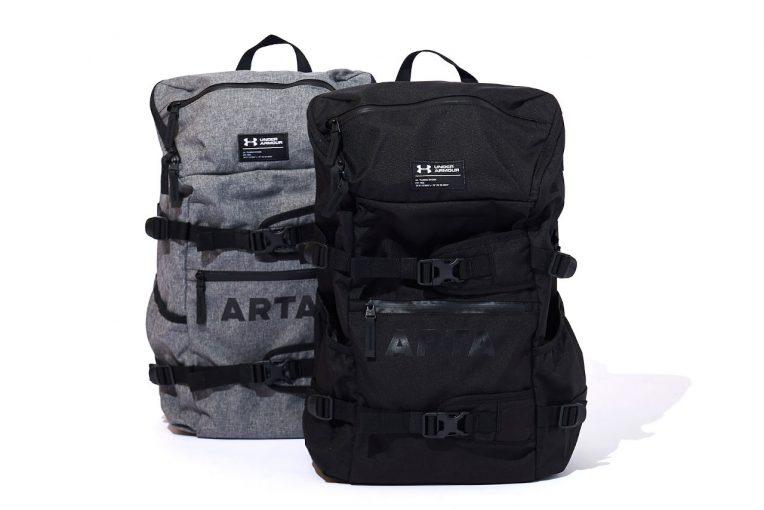 インフォメーション   ARTA×アンダーアーマーのコラボ最新作、撥水クールバックパックが7月5日発売