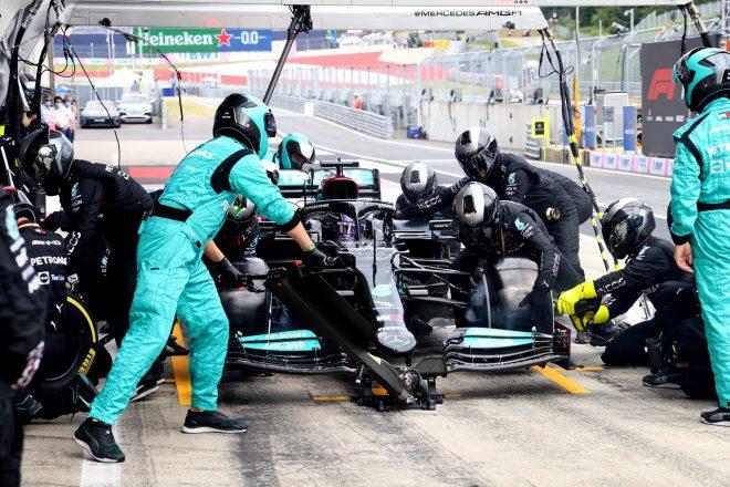 2021年F1第9戦オーストリアGP ルイス・ハミルトン(メルセデス)