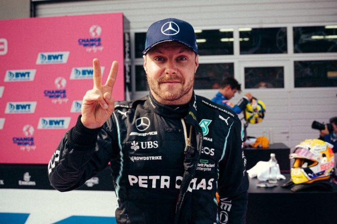 2021年F1第9戦オーストリアGP バルテリ・ボッタス(メルセデス)が2位獲得