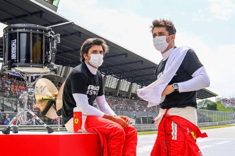 F1 | サインツ5位「シャルルとのチームワークでこの結果をつかんだ」フェラーリ/F1第9戦決勝