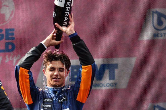 2021年F1第9戦オーストリアGP ランド・ノリス(マクラーレン)が3位