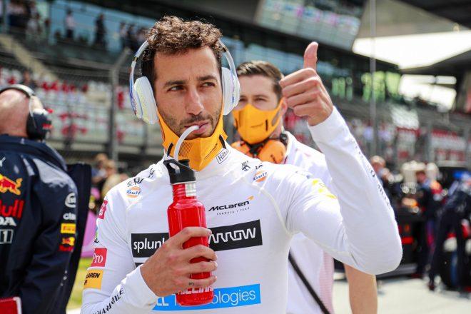 2021年F1第9戦オーストリアGP ダニエル・リカルド(マクラーレン)