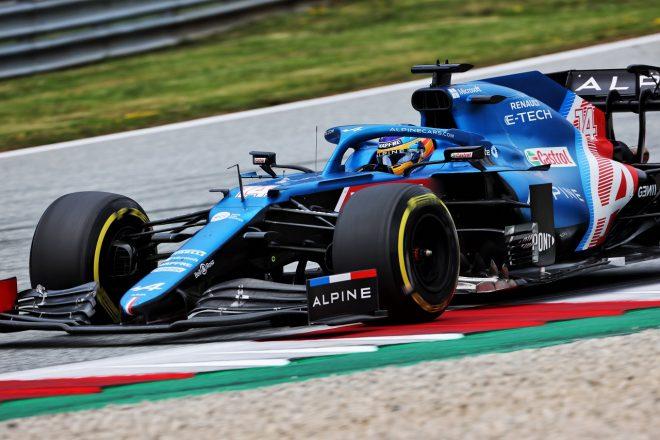 2021年F1第9戦オーストリアGP フェルナンド・アロンソ(アルピーヌ)