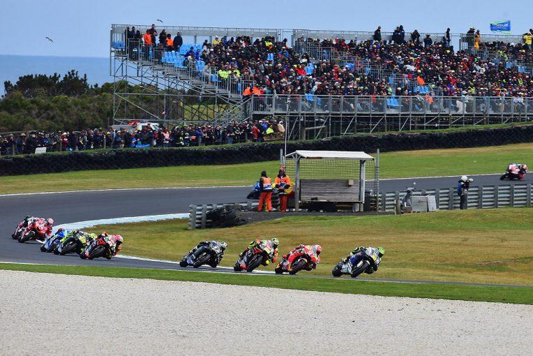 MotoGP   MotoGPの開催日程が変更。オーストラリアGPが中止、ポルトガル追加で2度目の開催に
