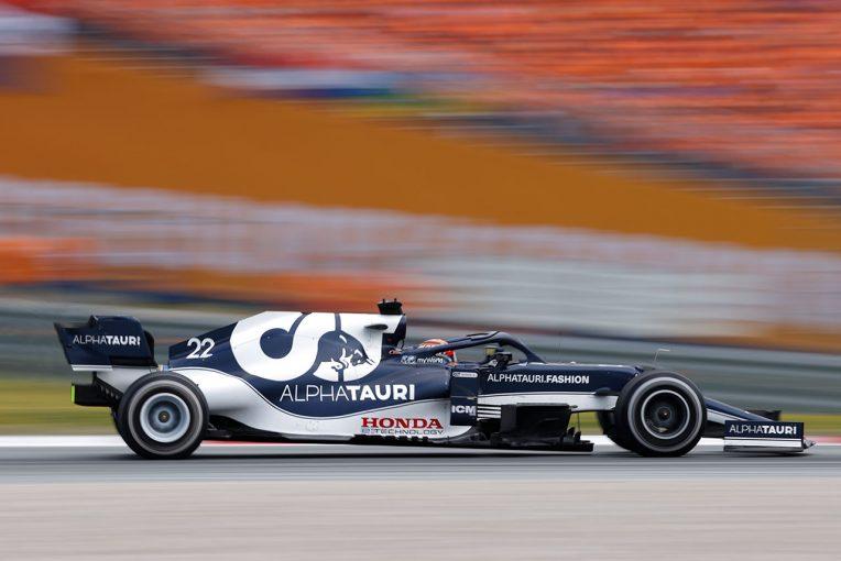 F1   F1 Topic:白線を2度カットした角田。すぐにペナルティを知らされず、最初のミスを認識していなかったことも一因か