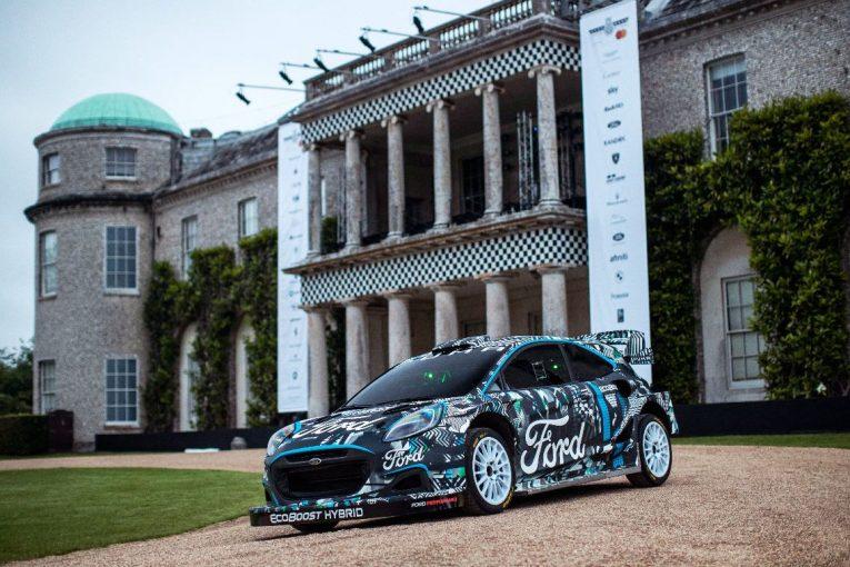 ラリー/WRC | Mスポーツ・フォード、新型WRCマシン『プーマ・ラリー1』プロトタイプを発表