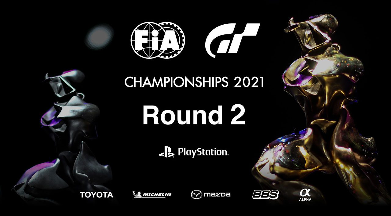 『FIAグランツーリスモ・チャンピオンシップ2021』のワールドシリーズ ラウンド2が7月11日に放送