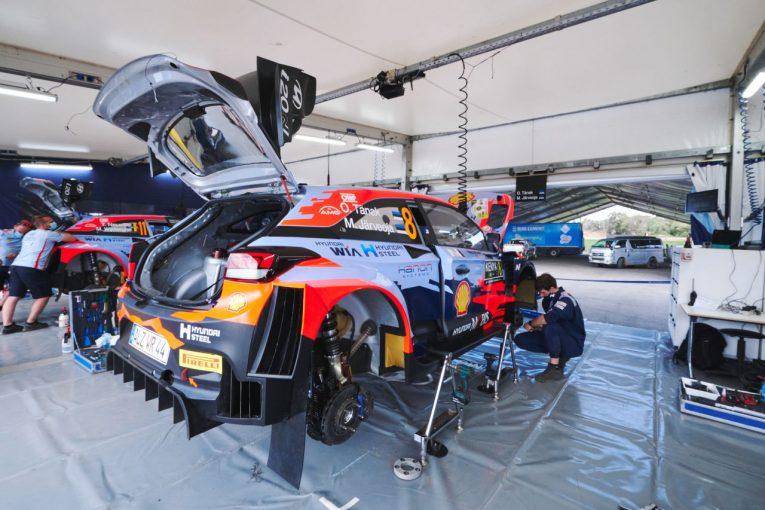 ラリー/WRC   トラブル相次ぐヒュンダイ、「サスペンションは昨年から変えていない」とアダモ代表/WRC