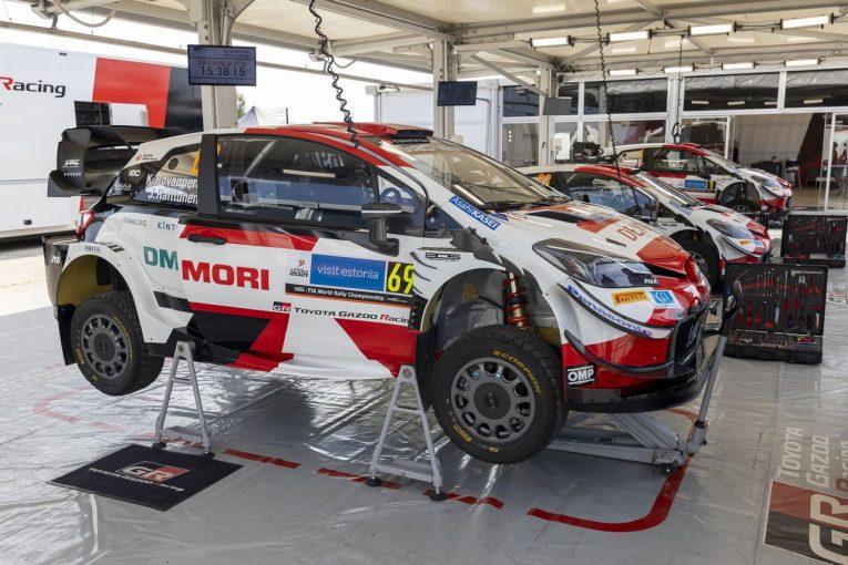 ラリー/WRC   トヨタ、前年のWRCエストニアは予想外の苦戦「今年はバランス良く調整した」とラトバラ