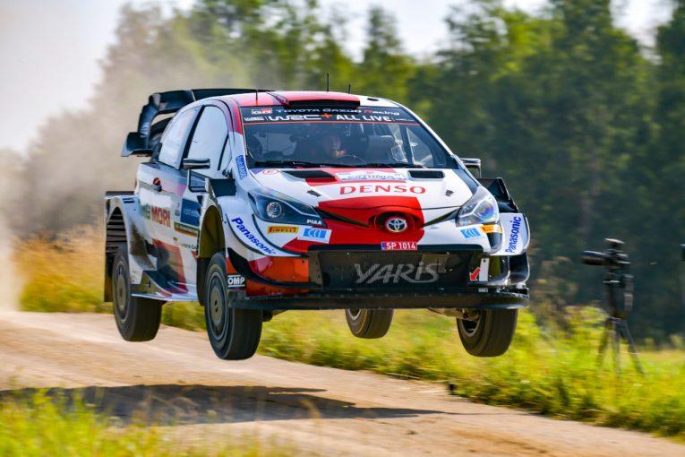 ラリー/WRC | トヨタのロバンペラと勝田貴元、シェイクダウンでタナクを挟み1-3/WRCエストニア