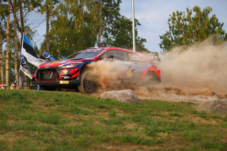 ラリー/WRC   【順位結果】2021年WRC第7戦エストニア SS1後