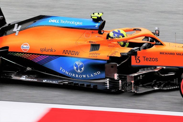 F1   F1技術解説オーストリアGP:好調マクラーレンが導入したレッドブル型フロア