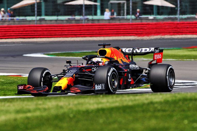 F1   イギリスGP FP1:レッドブル・ホンダのフェルスタッペンが首位。ノリス、ハミルトンが続き、角田は12番手に