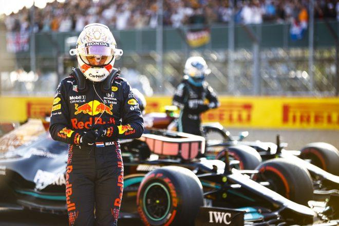 2021年F1第10戦イギリスGP 予選2番手のマックス・フェルスタッペン(レッドブル・ホンダ)