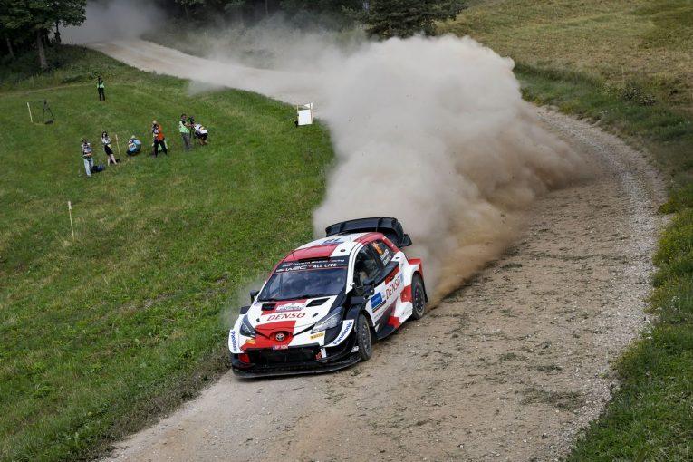 ラリー/WRC   【順位結果】2021年WRC第7戦エストニア SS9後