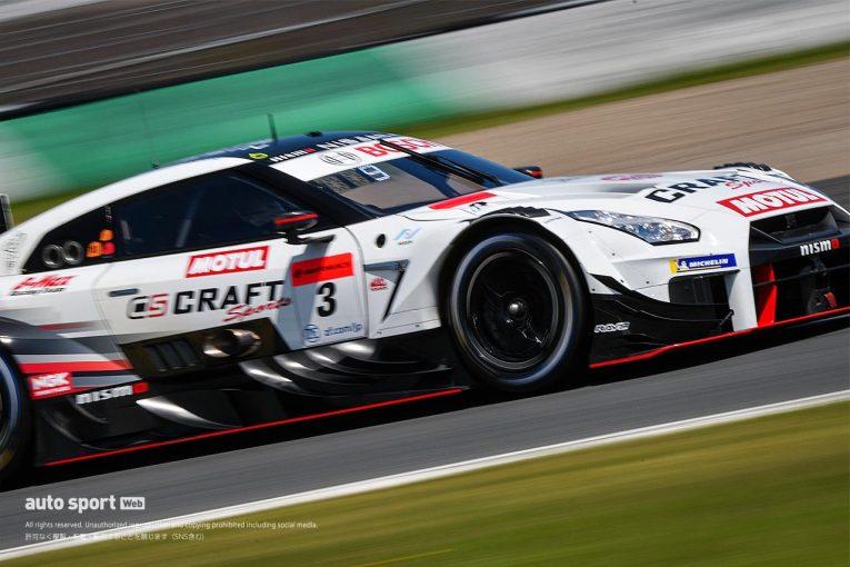 スーパーGT | 【タイム結果】スーパーGT第4戦もてぎ 公式練習。CRAFTSPORTS MOTUL GT-RとJLOC ランボルギーニ GT3が最速タイムを記録