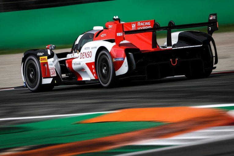 ル・マン/WEC | 7号車トヨタが唯一の1分36秒台に突入/【タイム結果】2021年WEC第3戦モンツァ FP2