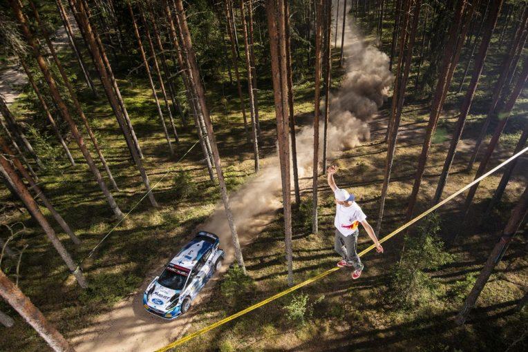 ラリー/WRC   【順位結果】2021年WRC第7戦エストニア SS18後