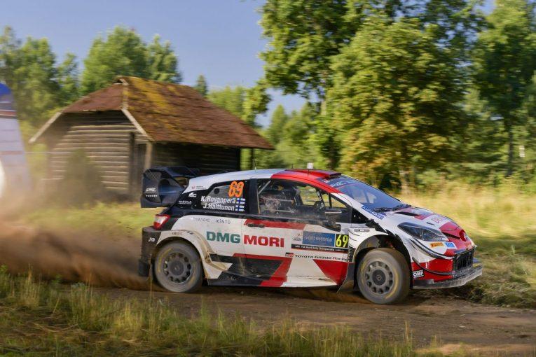 ラリー/WRC | トヨタ、首位ロバンペラを含む全員が順位をキープ「今日のカッレは10点満点中10点」/WRCエストニア