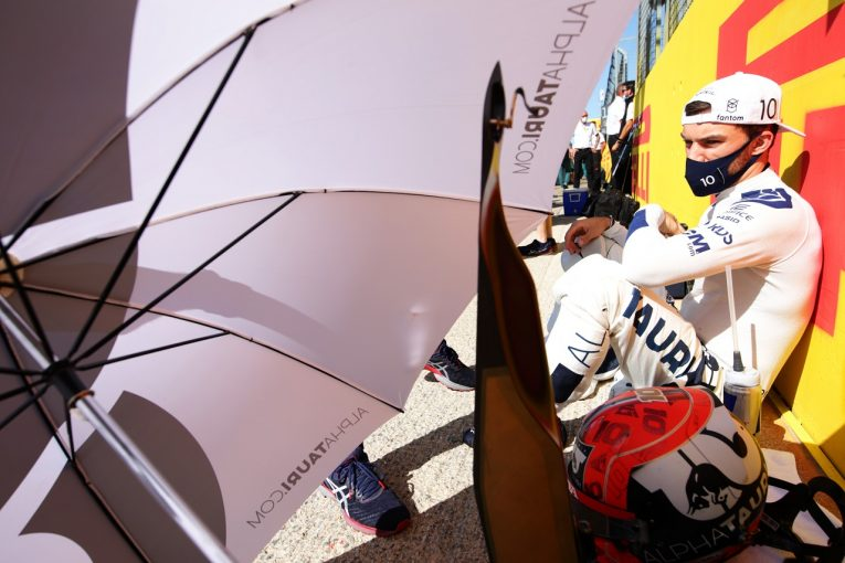 F1 | ガスリー12番手「すごく悔しい。車の力を引き出せずにいる」アルファタウリ・ホンダ/F1第10戦スプリント予選