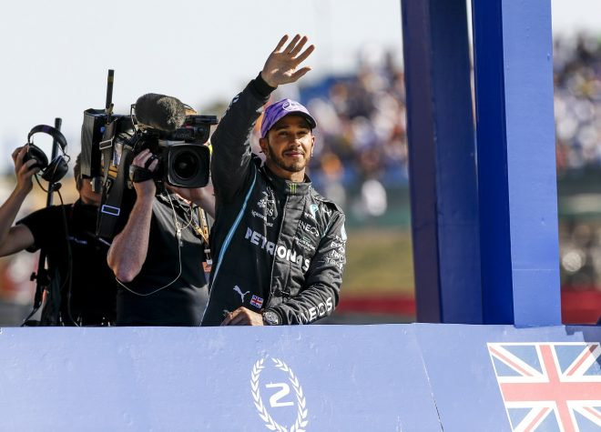 2021年F1第10戦イギリスGP ルイス・ハミルトン(メルセデス)