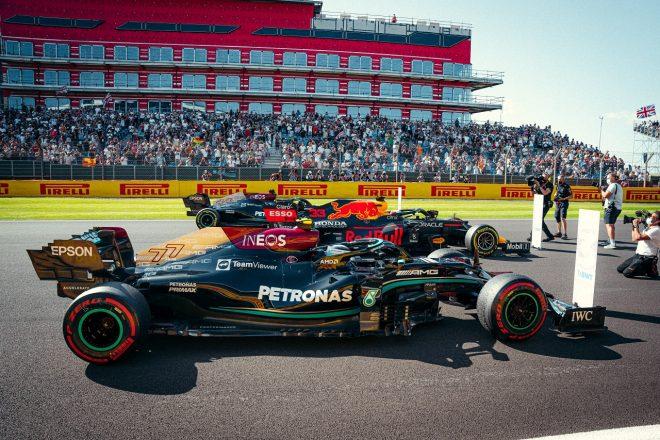 2021年F1第10戦イギリスGP バルテリ・ボッタス(メルセデス)