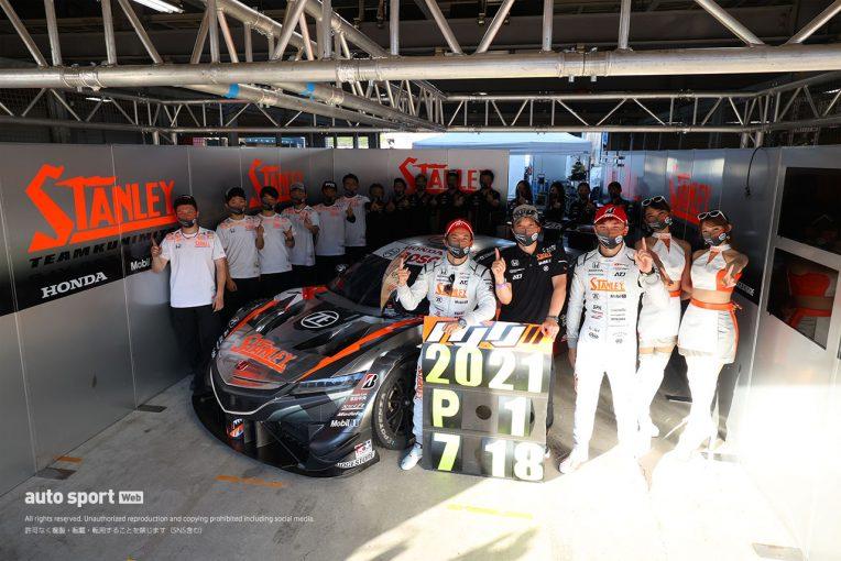 スーパーGT   もてぎ初優勝の山本尚貴「思い描いていた理想の展開でチェッカーを受けた。最高の勝利」【第4戦GT500決勝会見】