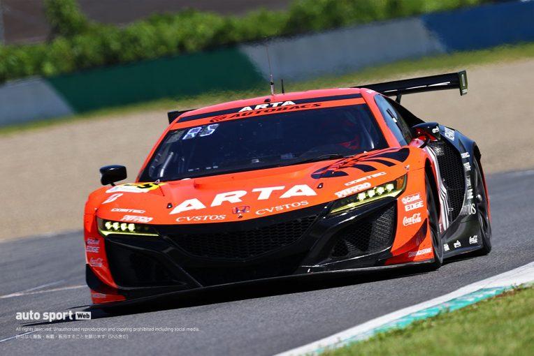 スーパーGT   今季一番の灼熱のレース。ARTA NSX-GT3の佐藤蓮、レース終盤に熱中症で救急搬送されるも無事に回復